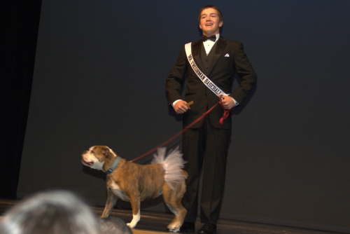 ROSIE AND COLE  FORMAL WEAR/SHE STOLE THE SHOW & THE WIN FOR COLE MR MHS!(MESQUITE HIGH SCHOOL!)FEB 2015